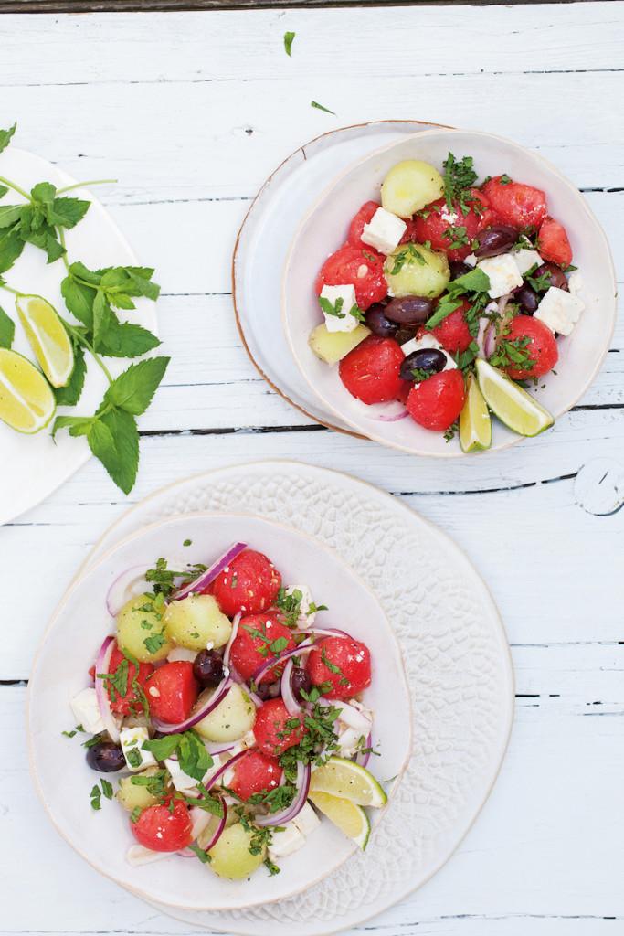Life Changing Food - Melonenbowl mit Minze und Feta